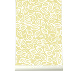 Behang Leavesvaria Yellow - roomblush