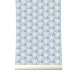 Behang Triangles Grey - roomblush