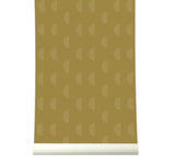 Behang Waves Mustard - roomblush