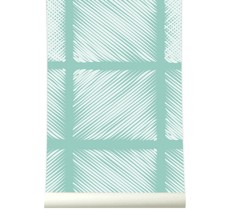 Behang Pattern Candygreen - roomblush