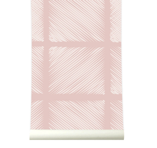 Behang Pattern Pink - roomblush