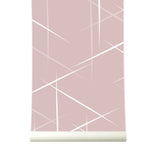 Behang Smashing Pink - roomblush