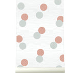Behang Confetti Browngrey