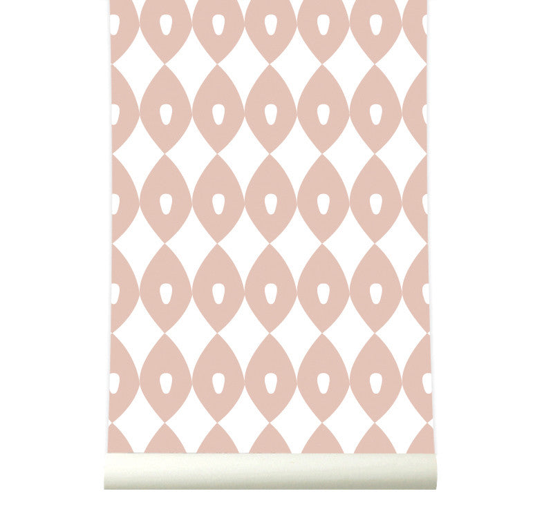 Behang Blossom Pink - roomblush