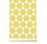 Behang Stars Yellow - roomblush