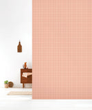Behang Grid Copperblush - roomblush