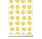 Behang Fluff yellow - roomblush