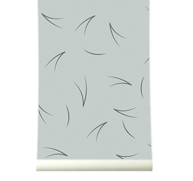 Behang Pine needle grey - roomblush