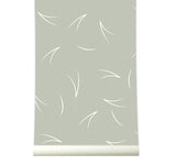 Behang Pine needle warmgrey