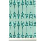 Behang Arrows green - roomblush