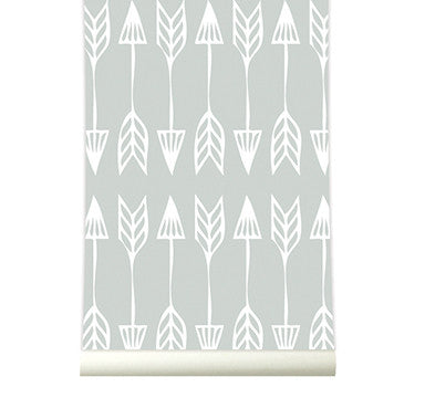 Behang Arrows grey - roomblush