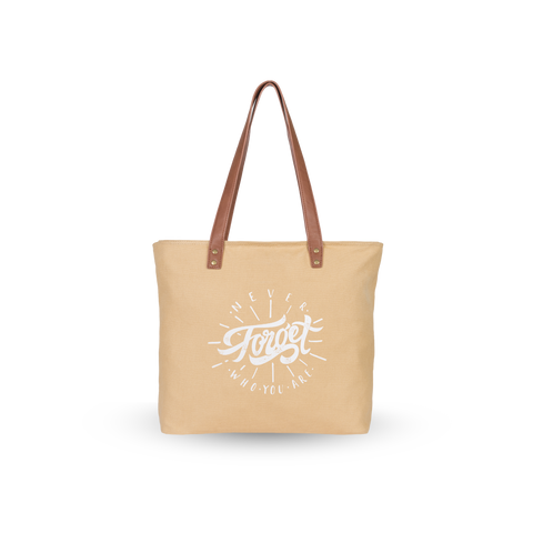 Sol Tote | Camel x Never Forget Who You Are