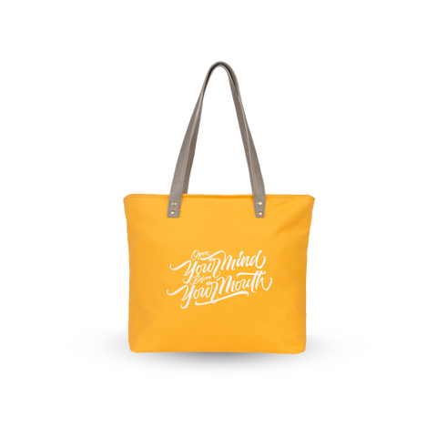 Sol Tote | Yellow x Open Your Mind