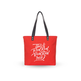 Sol Tote | Red x Real Real Real Real Love