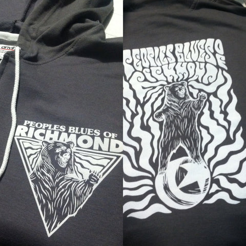 3 Eyed Circus Bear Hoodie (Zip-up)