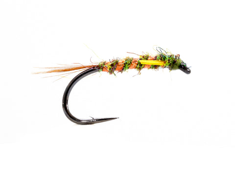 Olive and Orange Ice Dub Diawl