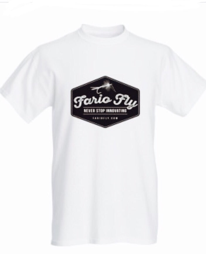 Fario Fly White T-Shirt