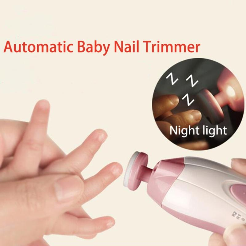 No More Crying! 6 in 1 Electric Baby Nail Trimmer Manicure Pedicure