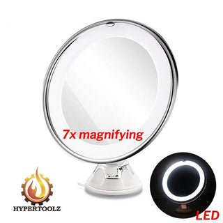 Fabulous Makeup Mirror - 360° Swivel LED 7X Magnifying