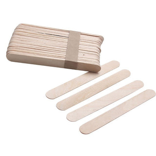 20PCS Wooden Body Hair Removal Applicator Sticks Wax Waxing Disposable Depilatory Sticks Tools
