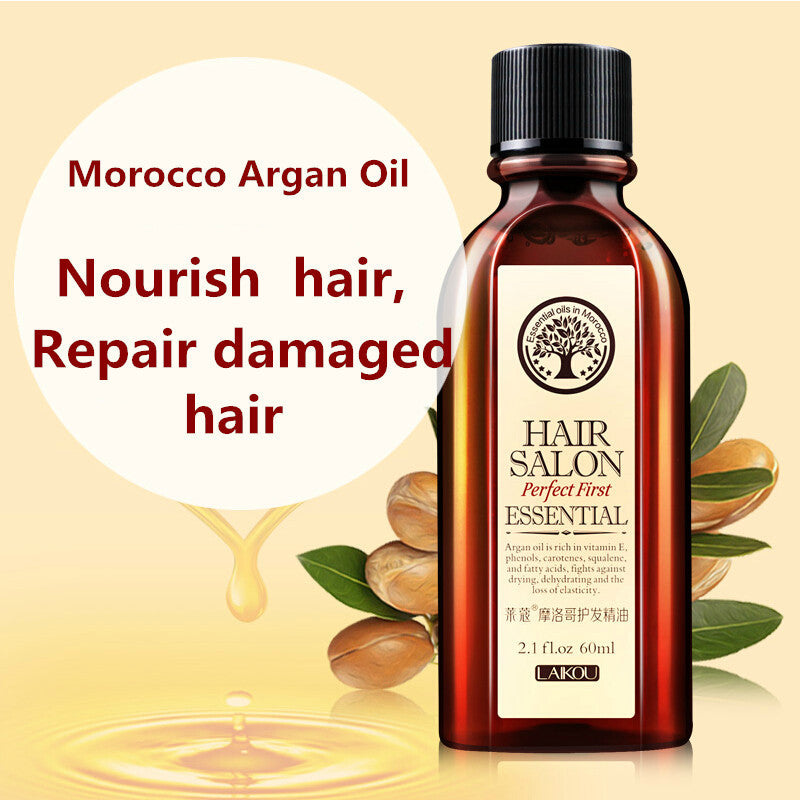 Pure Morroco Argan Oil Hair & Scalp Treatment 60ml [Keratin Free]