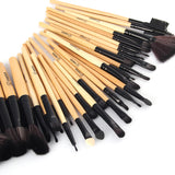 Professional 32 pcs Makeup Brushes with FREE Black Case