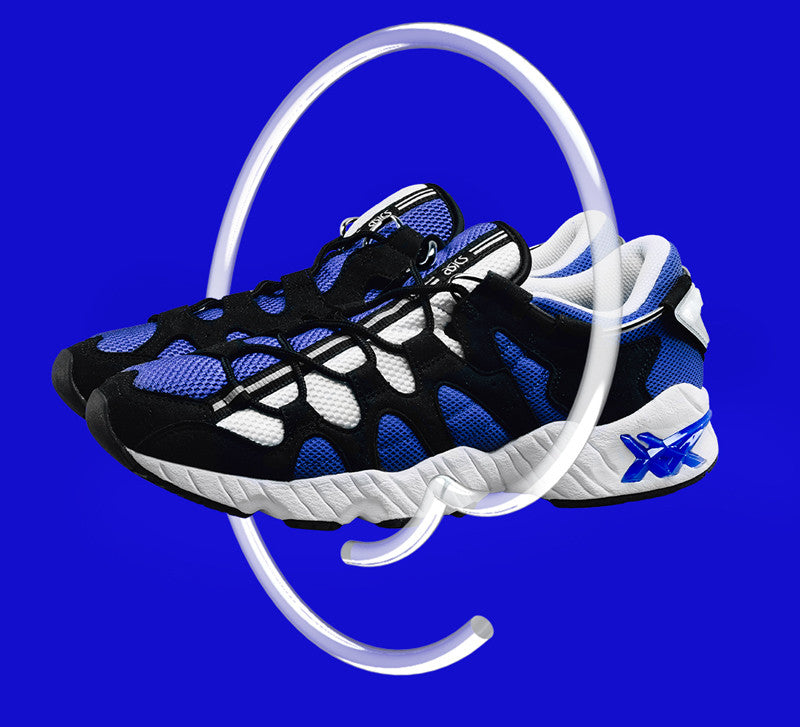 Asics Gel-Mai Royal Blue and Black