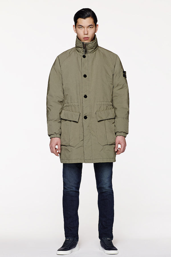 Stone Island Long Jacket David TC AW16