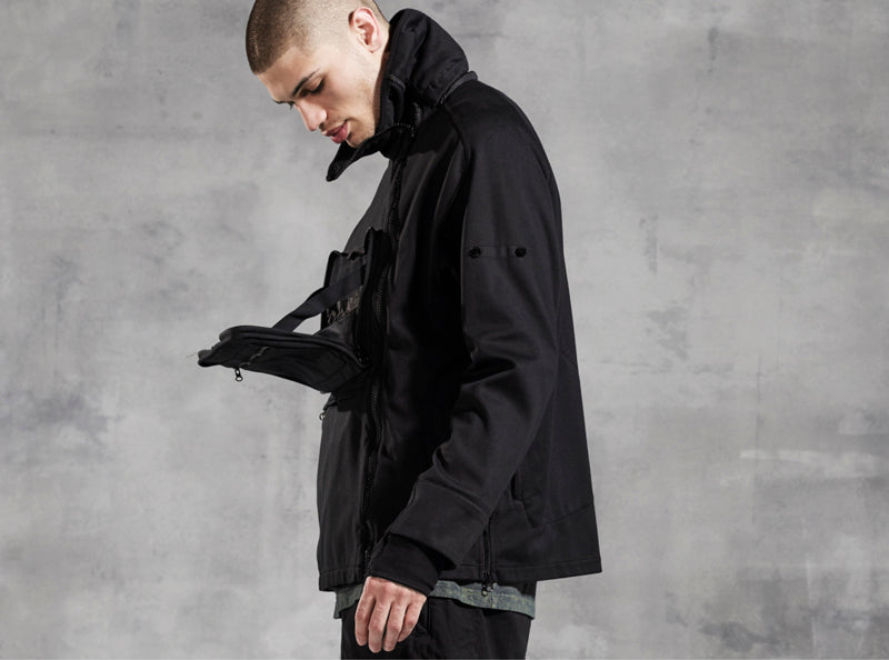 Stone Island Shadow Project AW16 Tactical Anorak in JERSEY-R