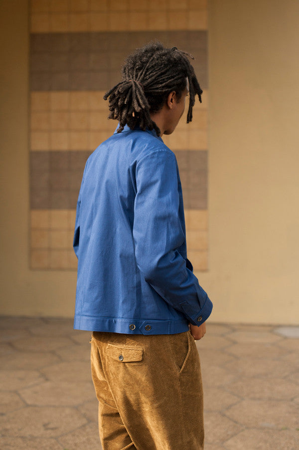 A.P.C. French Worker Jacket in Blue SS17