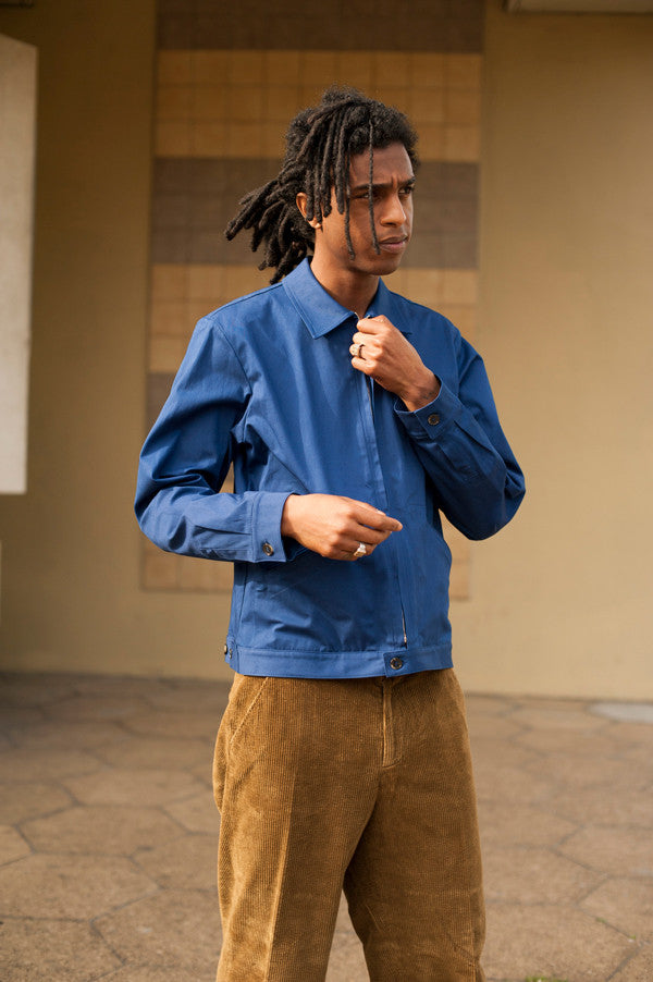 A.P.C. French Worker Jacket in Blue