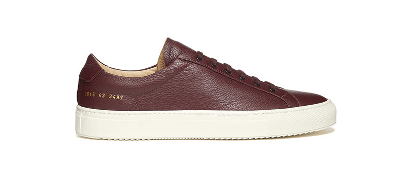 Common Projects Ripple Sole in Burgundy