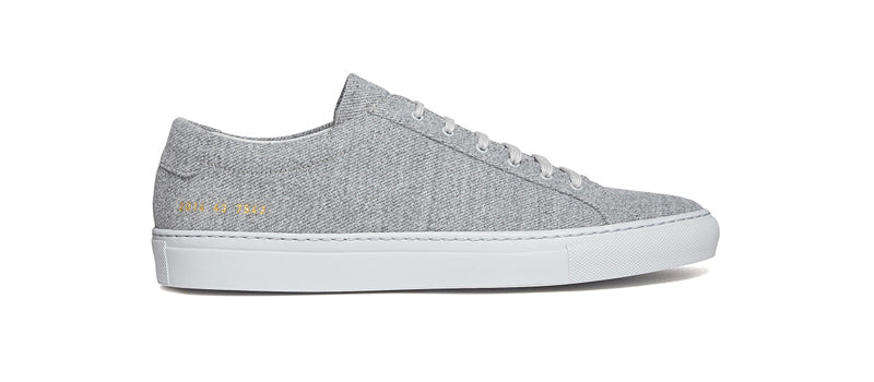 Common Projects Wool Upper in Grey