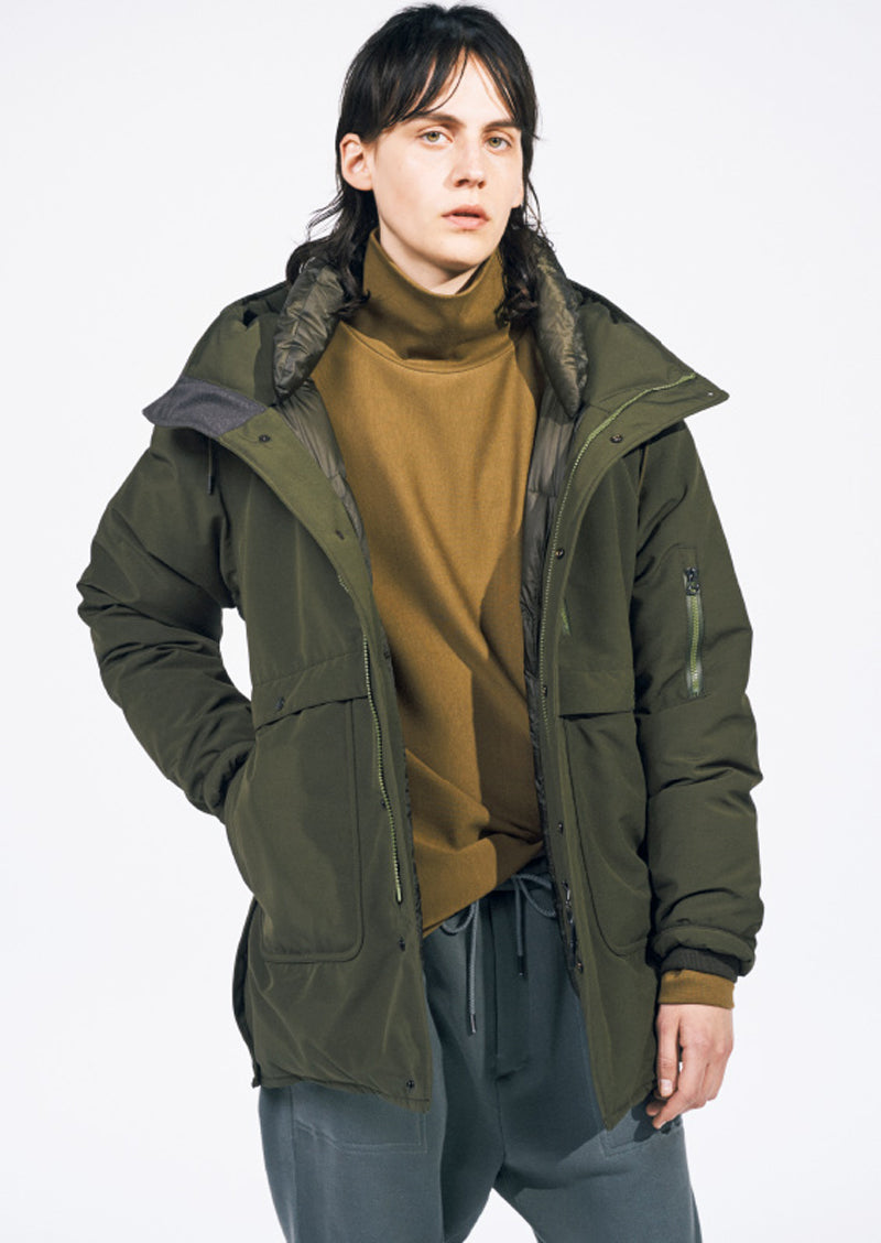 Nanamica AW17 Down Coat in Khaki