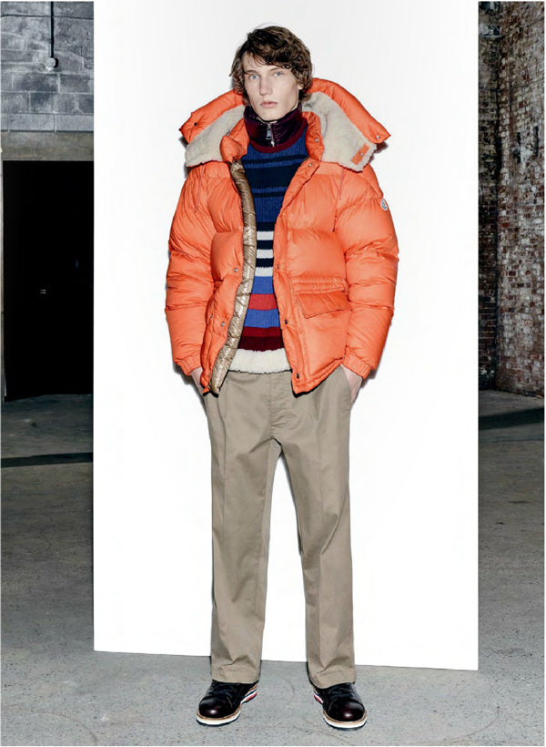 Moncler Cousteau in Orange
