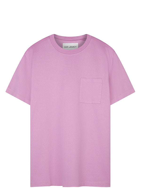 Our Legacy Pink Pocket T-shirt