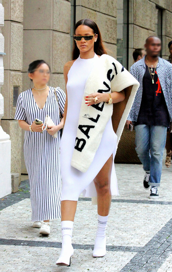 Rihanna Vetements socks