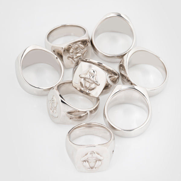 Tom Wood monkey rings