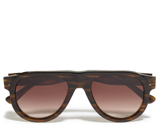 Tom Wood Duke Sunglasses in Feather Brown