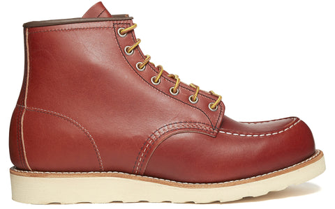 8131 Heritage Work Moc Toe Traction Boot in Brown