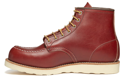 8131 Heritage Work Moc Toe Traction Boot in Red