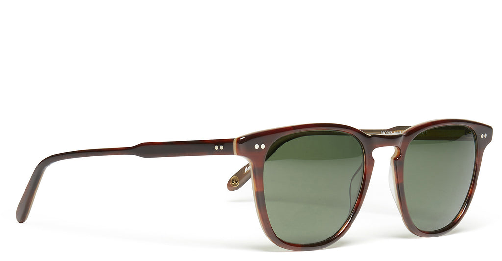 Brooks Sunglasses in Whiskey Tortoise