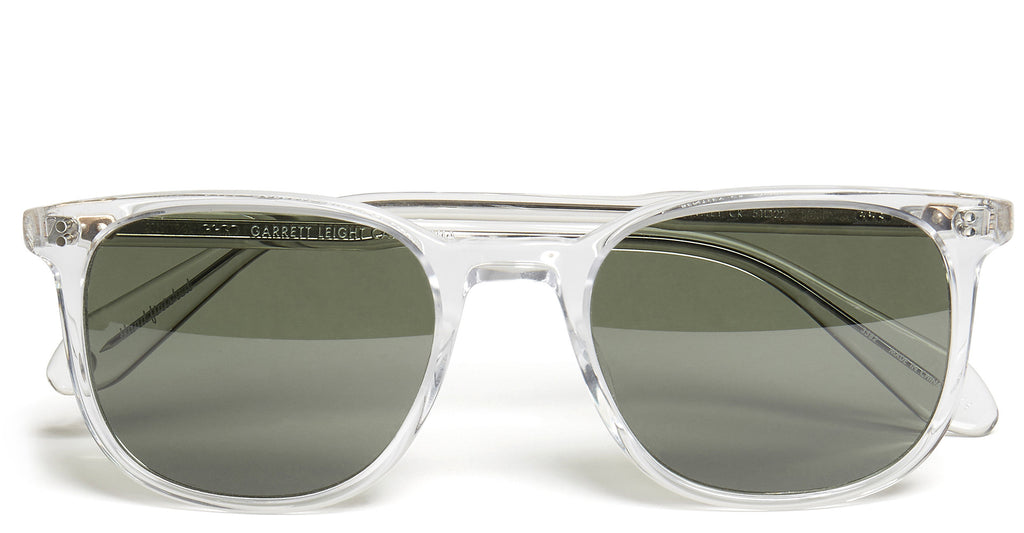 Bentley Sunglasses in Crystal/Pure
