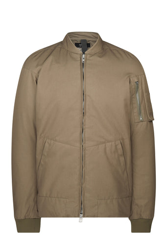 J50-S HD Gabardine Climashield  Bomber Jacket in Olive