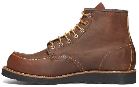 8886 Heritage Work Moc Toe Boot in Copper