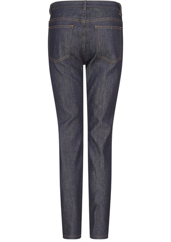 Denim Stretch Brut Dark High Jeans in Indigo