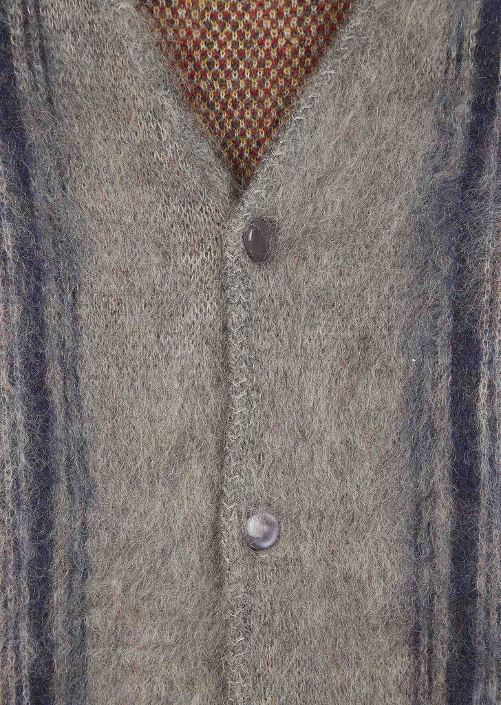 SS17 Mohair Cardigan in Grey