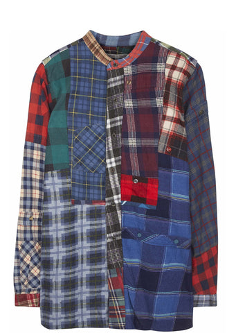 SS17 Rebuild Flannel Shirt in Multi