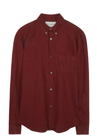 SS17 1950s Oxford Shirt in Burgundy