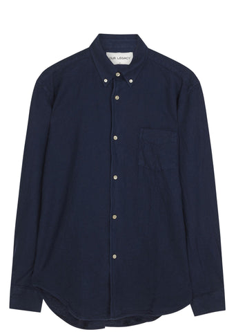 SS17 1950s Oxford Shirt in Blue H.A